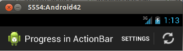Before activating the ActionView