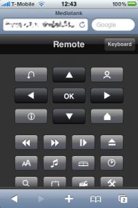 An Webapp running inside Safari