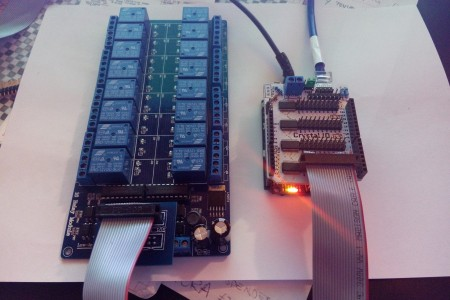 Arduino Yun: Control 64 and over I/O for...
